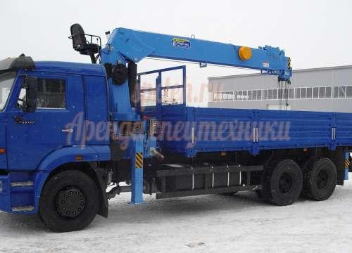 Манипулятор КАМАЗ 65117